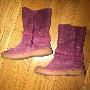 Livie and Luca Mulberry Calliope Shimmer Boots
